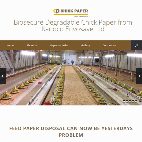 Chick paper from Kandco Envosave Ltd
