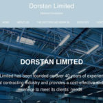 News website for Dorstan Limited created by Lesley Clarke Web Design