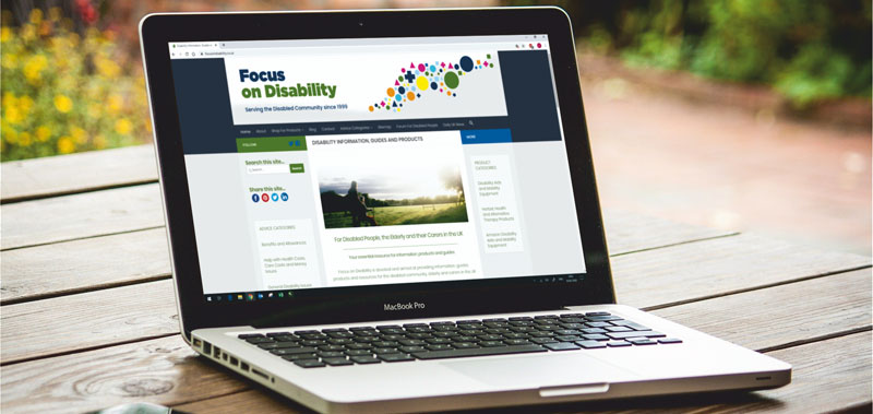 New website for Focus On Disability
