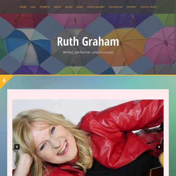 Ruth Graham, Writer, performer and musician