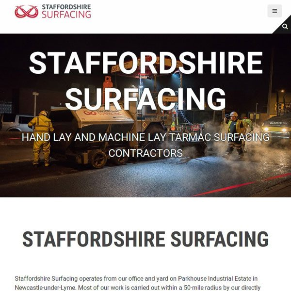 Stafforshire Surfacing